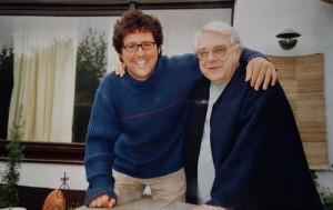 Paul Rebillot con Andreas Barella, curatore del volume in italiano